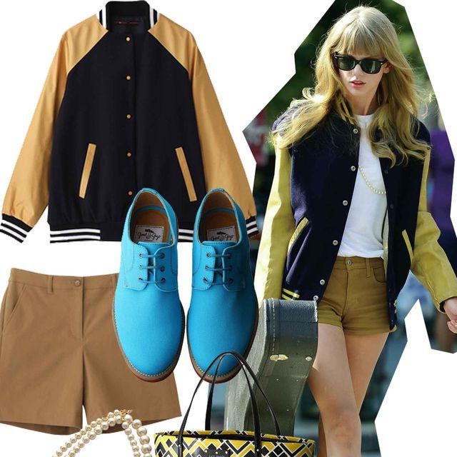 Clothing, Eyewear, Sleeve, Collar, Bag, Outerwear, Style, Fashion accessory, Fashion, Sunglasses,