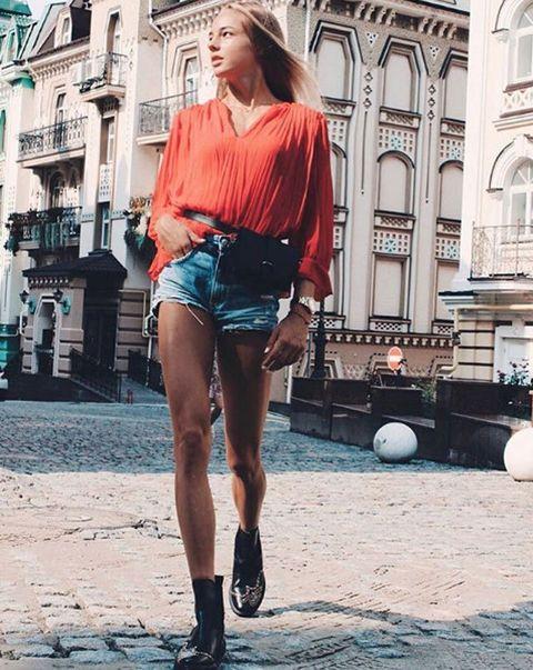 Clothing, Photograph, Street fashion, Fashion, Shorts, Leg, Denim, Beauty, Snapshot, Footwear,