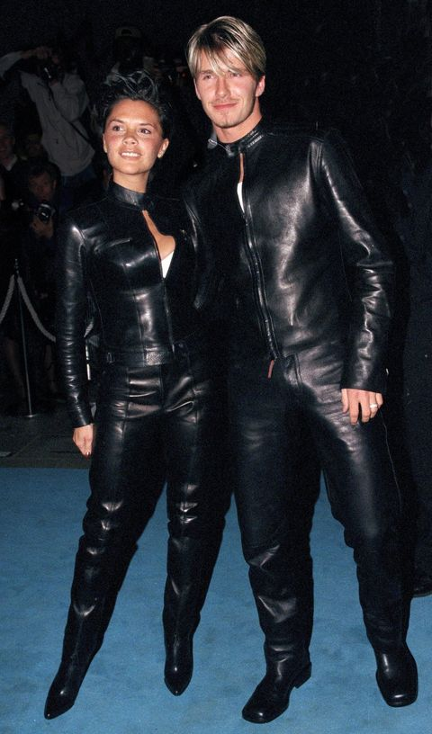 Leather, Clothing, Leather jacket, Outerwear, Latex clothing, Suit, Jacket, Footwear, Textile, Latex,