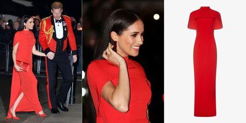 Sleeve, Red, Shoulder, Formal wear, Style, Dress, One-piece garment, Carmine, Fashion, Neck,