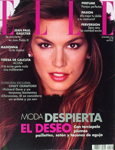 Hair, Magazine, Beauty, Eyebrow, Hair coloring, Chin, Pink, Publication, Black hair, Lip,
