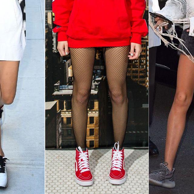 Clothing, Footwear, Leg, Human leg, Textile, Shoe, Joint, Outerwear, Bag, Style,