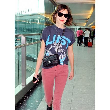 Clothing, Eyewear, Shoulder, Joint, Outerwear, Sunglasses, Style, Pink, Goggles, Street fashion,