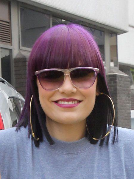 Clothing, Eyewear, Glasses, Vision care, Lip, Hairstyle, Sunglasses, Chin, Pink, Purple,