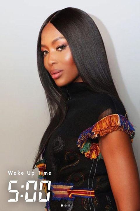 Hair, Clothing, Hairstyle, Beauty, Black hair, Wig, Long hair, Lip, Fashion accessory, Human,