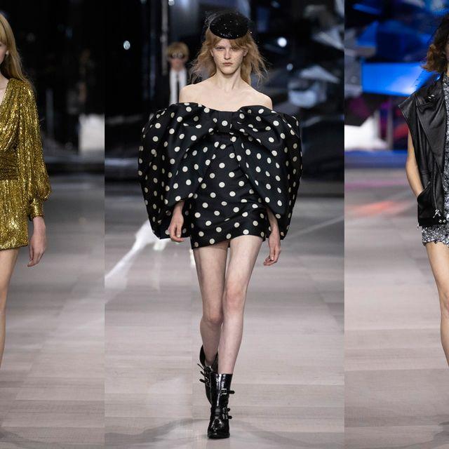 Fashion model, Fashion, Fashion show, Clothing, Runway, Shoulder, Dress, Fashion design, Haute couture, Footwear,