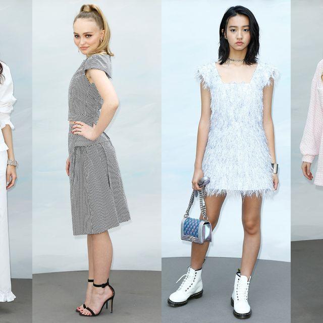 White, Clothing, Fashion model, Fashion, Footwear, Dress, Shoulder, Shoe, Sandal, Leg,