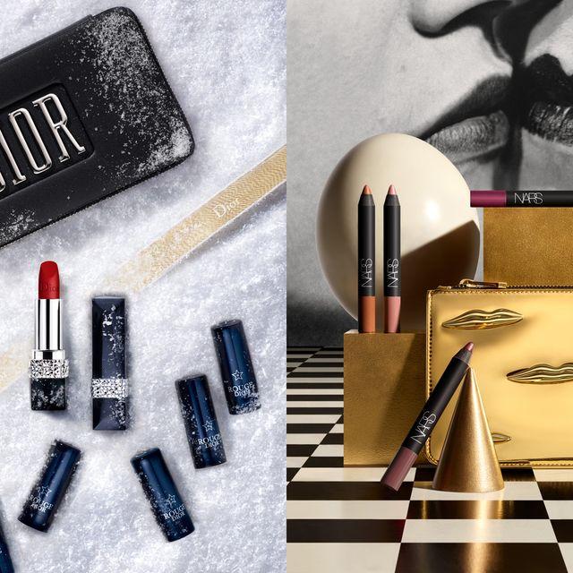 Beauty, Cosmetics, Eye liner, Eye shadow, Eye, Material property, Mascara, Still life photography, Lipstick,