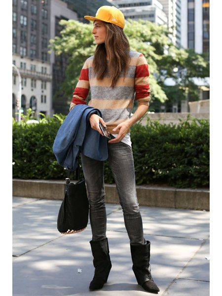 Clothing, Brown, Textile, Jeans, Outerwear, Bag, Fashion accessory, Denim, Style, Street fashion,