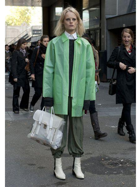 Clothing, Footwear, Leg, Trousers, Coat, Outerwear, Jacket, Bag, Style, Street,