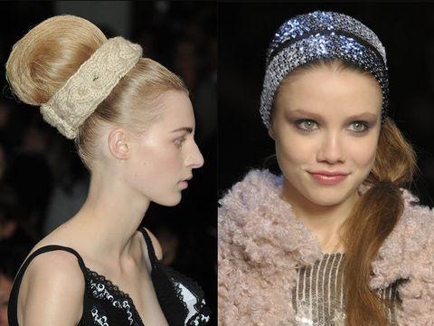 Lip, Hairstyle, Eyebrow, Hair accessory, Style, Headpiece, Eyelash, Headgear, Beauty, Fashion,