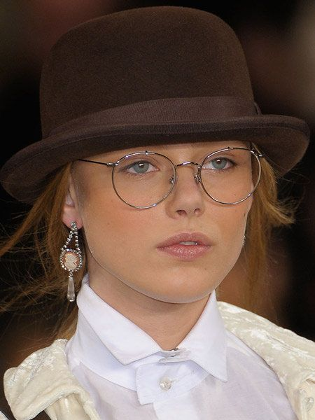 Clothing, Eyewear, Vision care, Glasses, Mouth, Lip, Hairstyle, Chin, Collar, Hat,