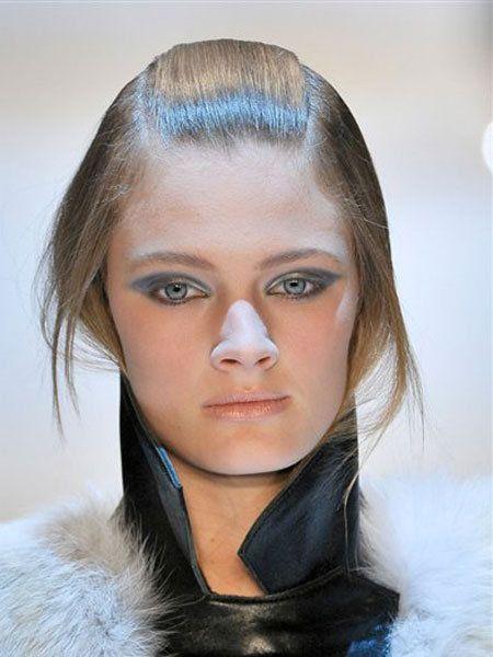 Lip, Cheek, Hairstyle, Forehead, Eyebrow, Eyelash, Style, Iris, Fashion, Beauty,