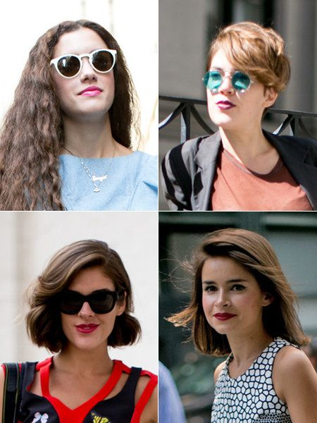 Clothing, Eyewear, Vision care, Glasses, Lip, Hairstyle, White, Sunglasses, Style, Collage,