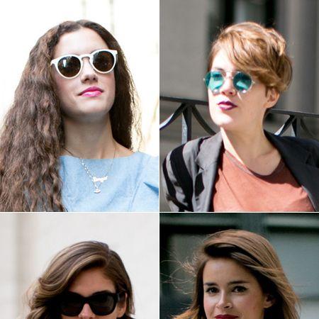 Clothing, Eyewear, Glasses, Vision care, Lip, Hairstyle, White, Sunglasses, Style, Beauty,
