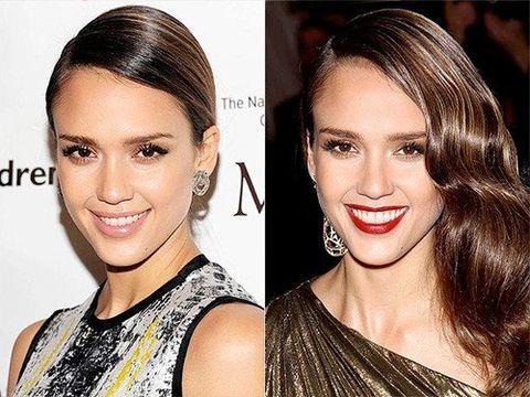Hair, Head, Nose, Smile, Lip, Hairstyle, Skin, Chin, Forehead, Earrings,