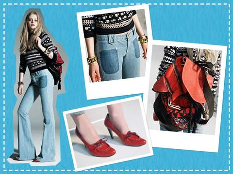 Clothing, Blue, Product, Denim, Red, Textile, Outerwear, Bag, Style, Pattern,