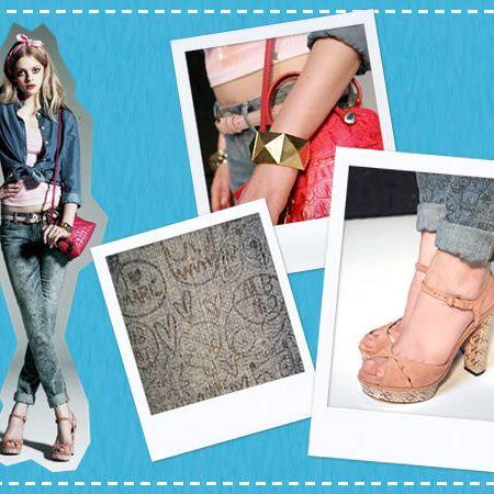 Style, Teal, Fashion, Pattern, Aqua, Bag, Street fashion, Design, Foot, Fashion illustration,