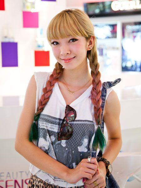 Arm, Hairstyle, Hand, Dress, Bangs, Fashion accessory, Beauty, Camera, Eyelash, Hair coloring,