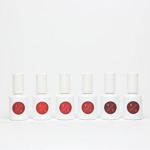 Red, Cosmetics, Lipstick, Material property, Nail polish, Coquelicot, Nail care, Lip gloss,