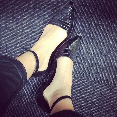 Footwear, Human, Leg, Human leg, Joint, Fashion, Foot, Leather, Close-up, Ankle,