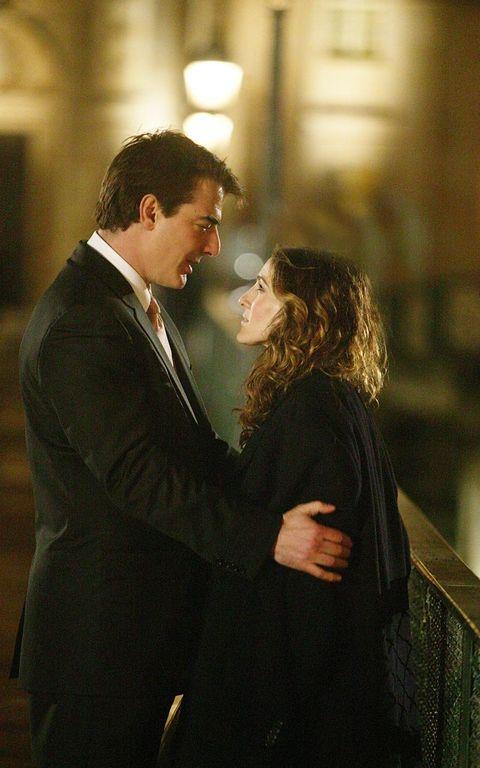 Hair, Formal wear, Suit, Romance, Interaction, Love, Gesture, Scene, Honeymoon, Acting,