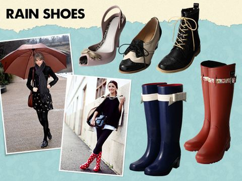 Footwear, Umbrella, Textile, Outerwear, Boot, Style, Pattern, Fashion, Carmine, Black,