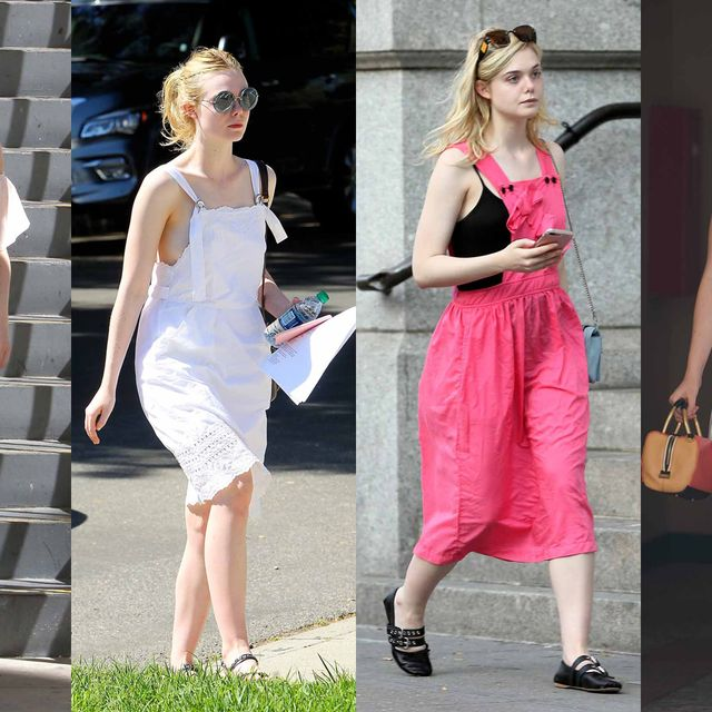 Clothing, Dress, Shoulder, Fashion model, Fashion, Pink, Street fashion, Footwear, Sandal, Shoe,