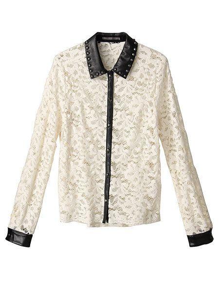 Clothing, Product, Collar, Sleeve, Dress shirt, Textile, Pattern, White, Style, Fashion,