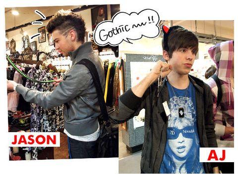 Street fashion, Necklace, Vest, Sleeveless shirt, Leather jacket, Belt,