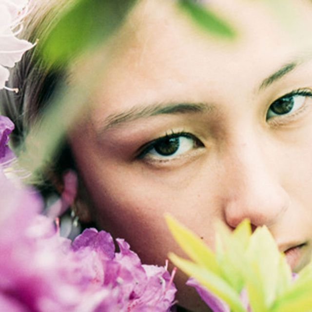 Face, Skin, Head, Beauty, Nose, Flower, Eye, Forehead, Smile, Close-up,