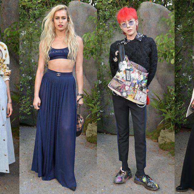 Clothing, Fashion, Street fashion, Dress, Headgear, Outerwear, Event, Trousers, Formal wear, Jeans,
