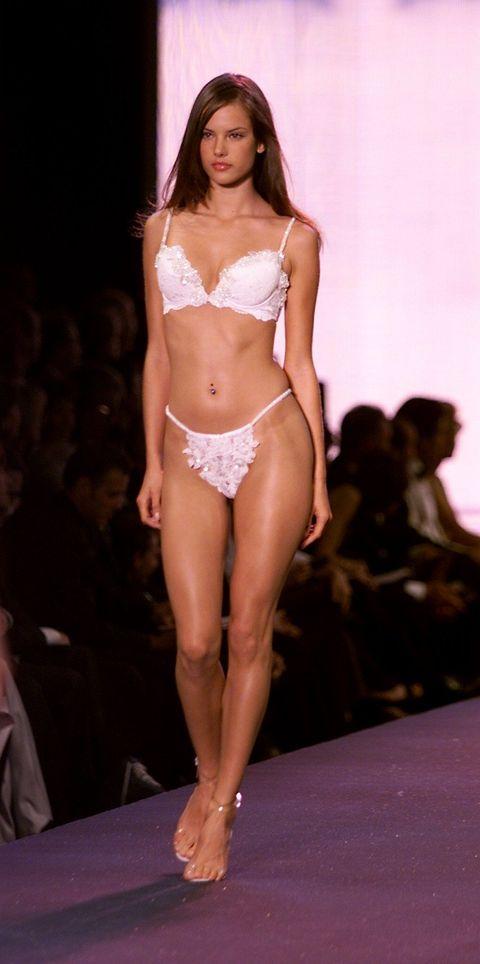 Fashion model, Lingerie, Clothing, Fashion show, Fashion, Undergarment, Model, Bikini, Beauty, Runway,