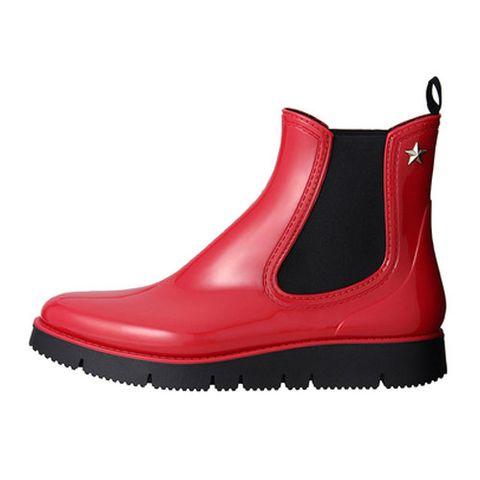 Footwear, Boot, Shoe, Red, Snow boot, Steel-toe boot,