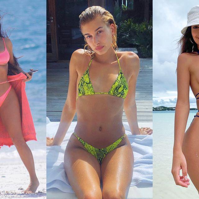 Clothing, Fun, Skin, Brassiere, Bikini, Swimwear, Summer, Swimsuit top, Thigh, Beauty,