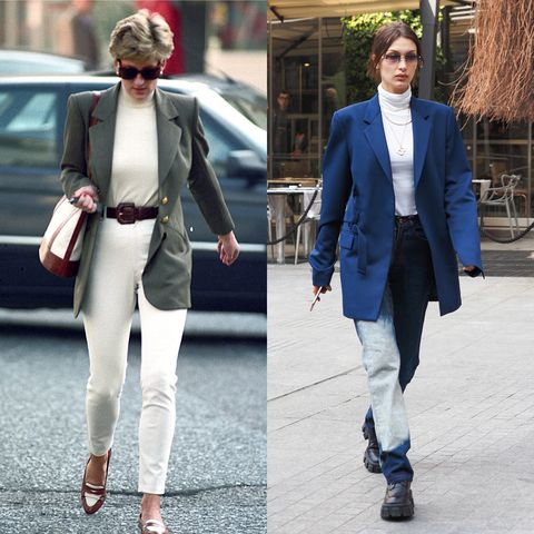 Clothing, Trousers, Collar, Coat, Textile, Outerwear, Standing, Style, Street fashion, Blazer,