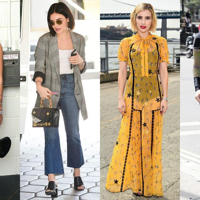 Clothing, Fashion model, Street fashion, Fashion, Yellow, Dress, Footwear, Shoulder, Shoe, Fashion design,