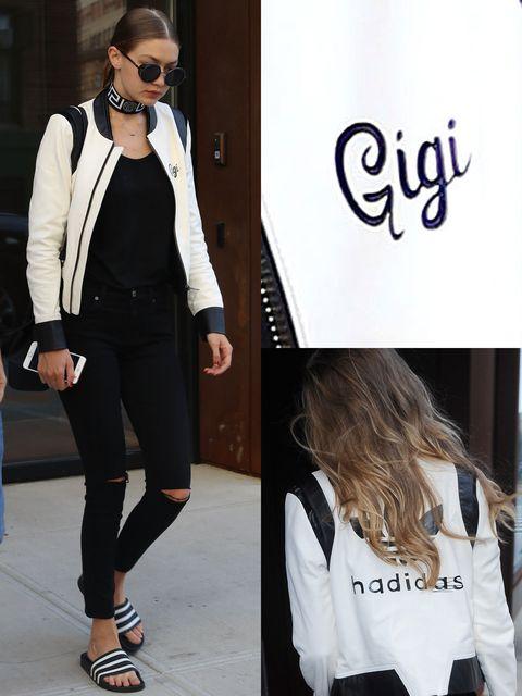 Clothing, White, Street fashion, Outerwear, Blazer, Eyewear, Footwear, Fashion, Jacket, Black-and-white,