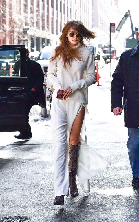 Eyewear, Leg, Trousers, Textile, Winter, Outerwear, Coat, Jacket, Street, Style,
