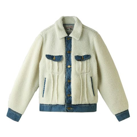 Clothing, Outerwear, Jacket, Sleeve, Beige, Collar, Coat, Fur, Pocket, Top,