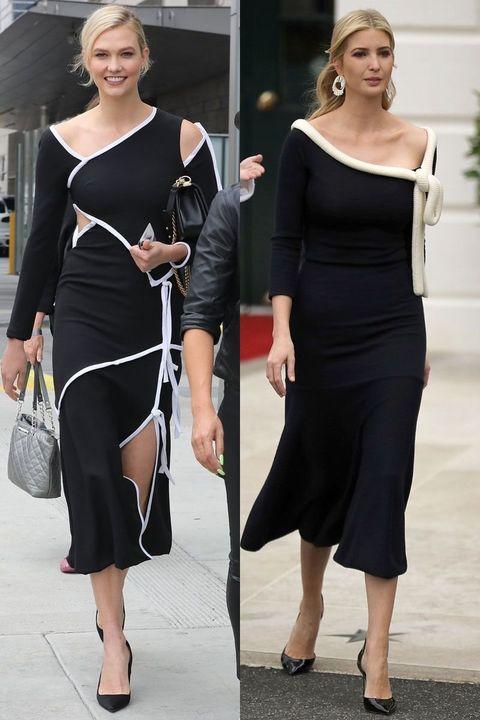 Clothing, Shoulder, Dress, Little black dress, Joint, Fashion, Cocktail dress, Leg, Footwear, Black-and-white,