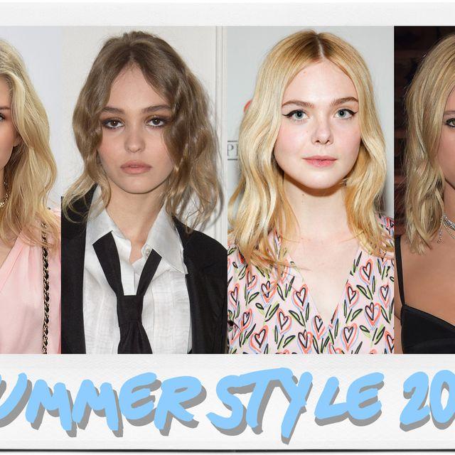 Hair, Face, Blond, Skin, Eyebrow, Hairstyle, Beauty, Lip, Head, Fashion,