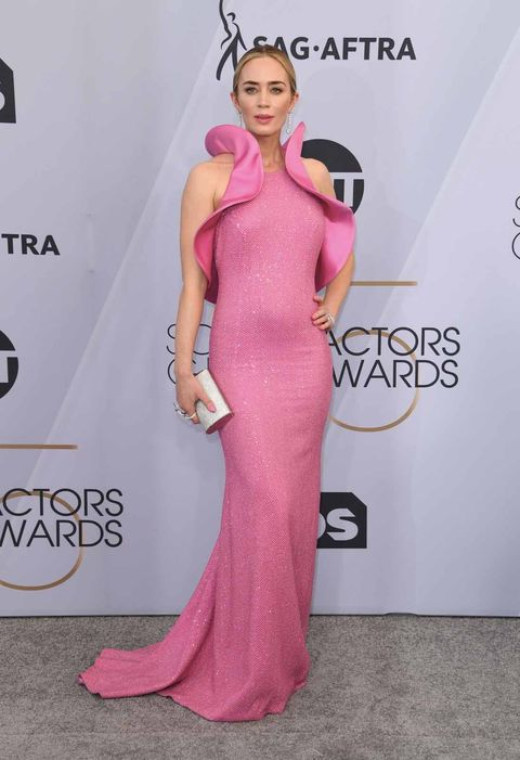 Red carpet, Hair, Clothing, Dress, Shoulder, Carpet, Pink, Gown, Fashion model, Hairstyle,
