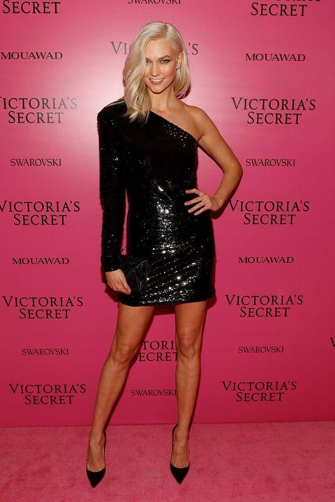 Clothing, Dress, Cocktail dress, Shoulder, Pink, Fashion, Footwear, Little black dress, Joint, Premiere,