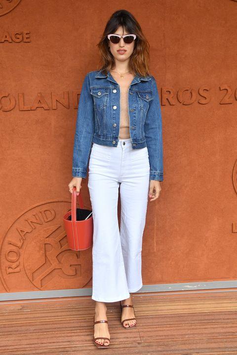 Denim, Clothing, Jeans, White, Blue, Fashion, Waist, Street fashion, Textile, Trousers,