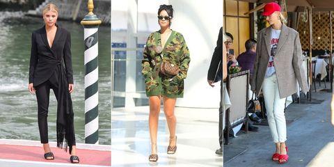 Clothing, Footwear, Eyewear, Leg, Trousers, Outerwear, Coat, Style, Hat, Fashion accessory,