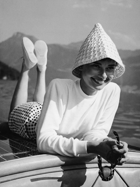 Black-and-white, Monochrome photography, Photography, Monochrome, Headgear, Hand, Smile, Stock photography, Vehicle, Vacation,