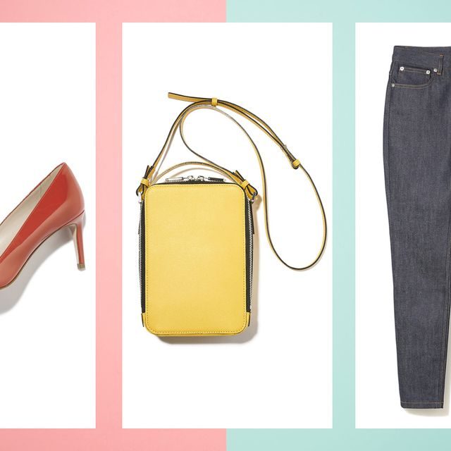Jeans, Denim, Clothing, Yellow, Product, Footwear, Trousers, Material property, Font, Textile,