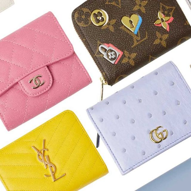 Wallet, Pink, Fashion accessory, Coin purse, Brand,