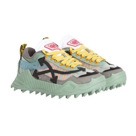 Footwear, Shoe, Yellow, Sneakers, Outdoor shoe, Running shoe, Hiking boot, Sportswear, Athletic shoe,
